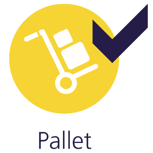Pallet delivery and courier