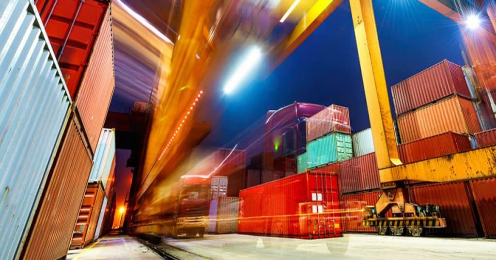 Freight forwarder and international shipping