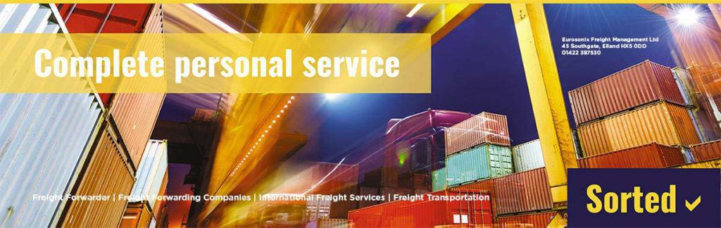 freight forwarder Radcliffe, Greater Manchester, uk