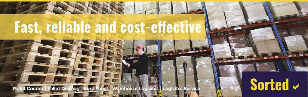 pallet courier uk Radcliffe, Greater Manchester