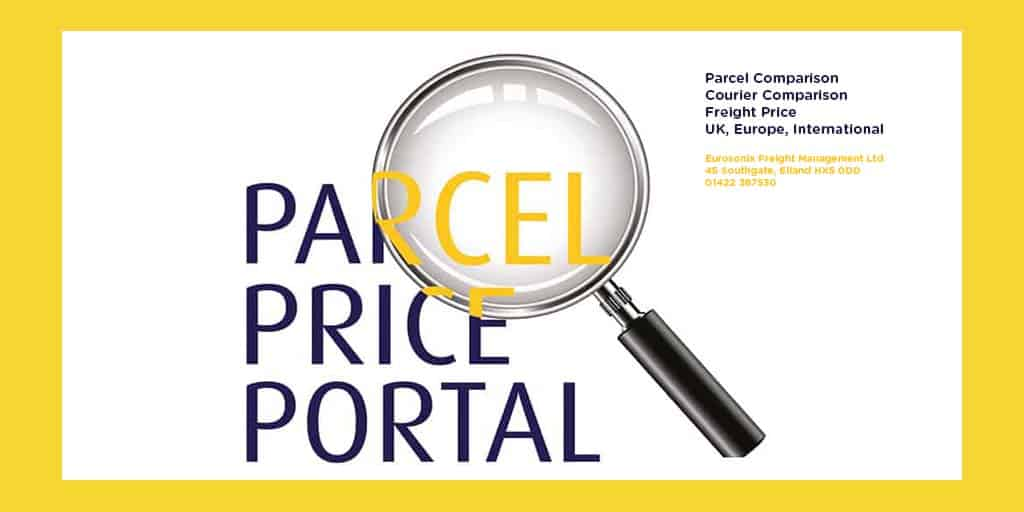 parcel price comparison Radcliffe, Greater Manchester