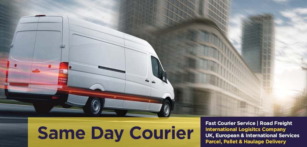 same day courier service company Radcliffe, Greater Manchester